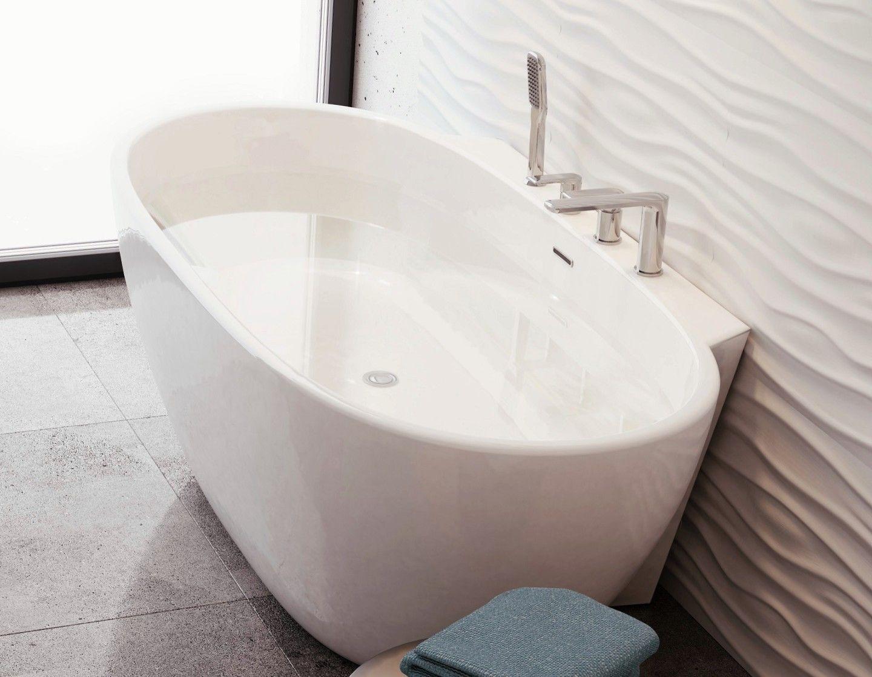 Wolnostojaca Przyscienna Wanna Scandibath Mandal Lazienki Inspiracje Scandibath Mojdom Wolnostojaca Wanny Owalne Bath Corner Bathtub Bathtub Bathroom