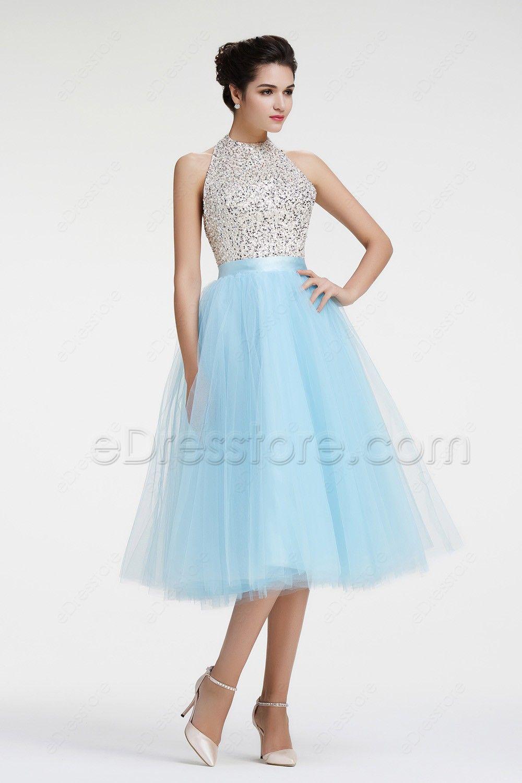 930e4a0126 Light Blue Sparkly Prom Dresses - Gomes Weine AG