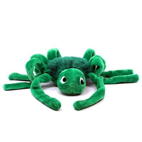 Outward Hound 32031 Jumbo Spider Dog Toys Large Colors Vary