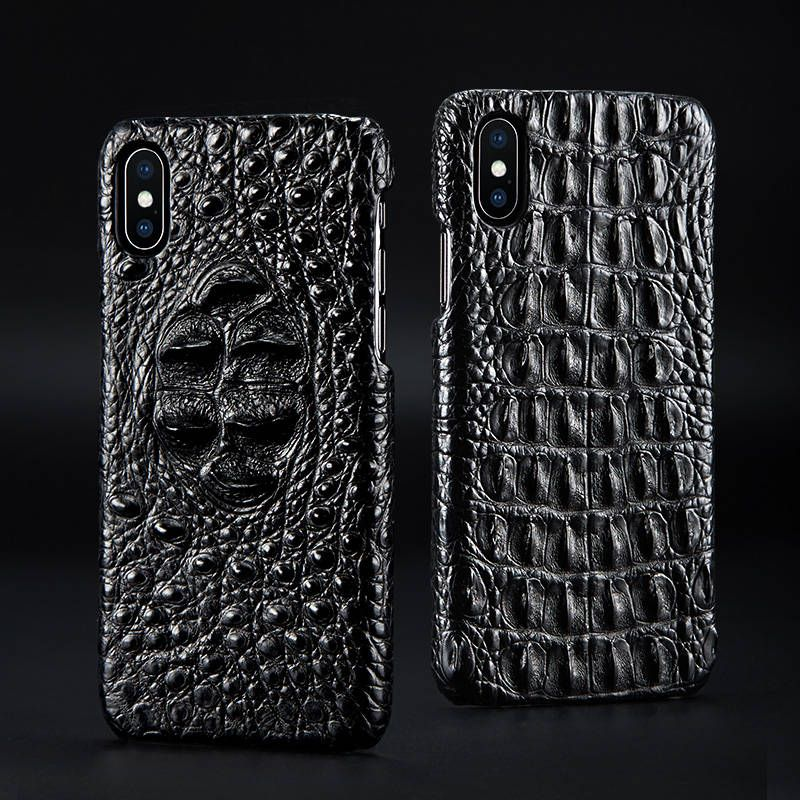 huge discount a57c5 12bd5 Crocodile Skin iPhone Xs Max Case, Alligator Skin iPhone Xs Max Case ...