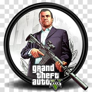 Grand Theft Auto V Game Icon Gta 5 7 Gta V Game Cover Transparent Background Png Clipart Grand Theft Auto Gta Gta 5