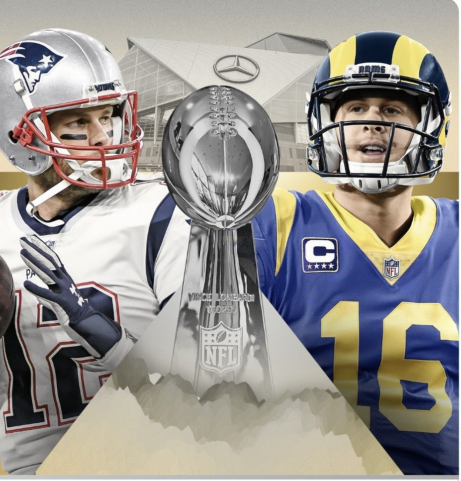 Match Set Old School Vs New School Brady One More Gurley And Goff Get Their First Super Bowl Patriots Bill Belichick