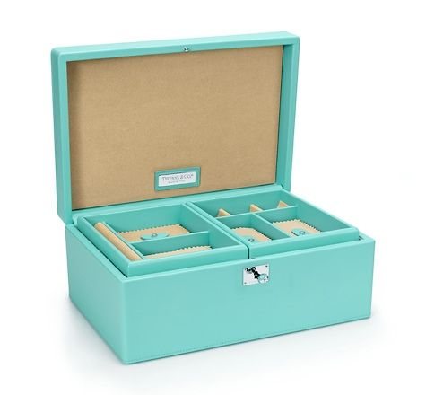 2ec91cc52da Jewelry Box | My Style | Tiffany jewelry box, Tiffany jewelry ...