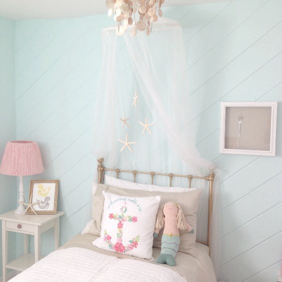 Under the Sea Mermaid Bedroom Inspiration - One Thousand Oaks