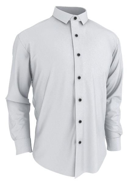 Blank Label custom shirt in LaSalle with a mini-point collar