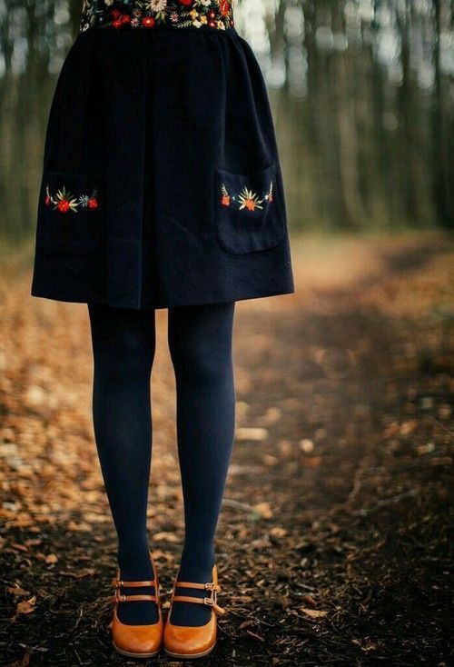 Gorgeous Embroidered Navy Blue Corduroy Skirt | Winter Skirts | Fall Skirts | Corduroy Skirt | Skirt Fall Outfit | Winter Womens Fashion #navyskirt #corduroyskirt #winterskirts #fallskirts #skirtfalloutfit #winterwomensfashion #womenclotheswinter #winterwomensfashion