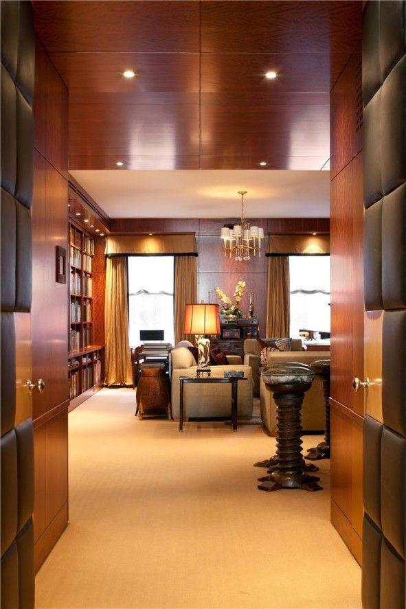 Apartments, Surprising Mini Library Access Door With Warm Floor ...