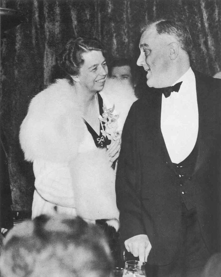 Franklin and Eleanor Roosevelt in 1936 | 1930s | Pinterest | Roosevelt