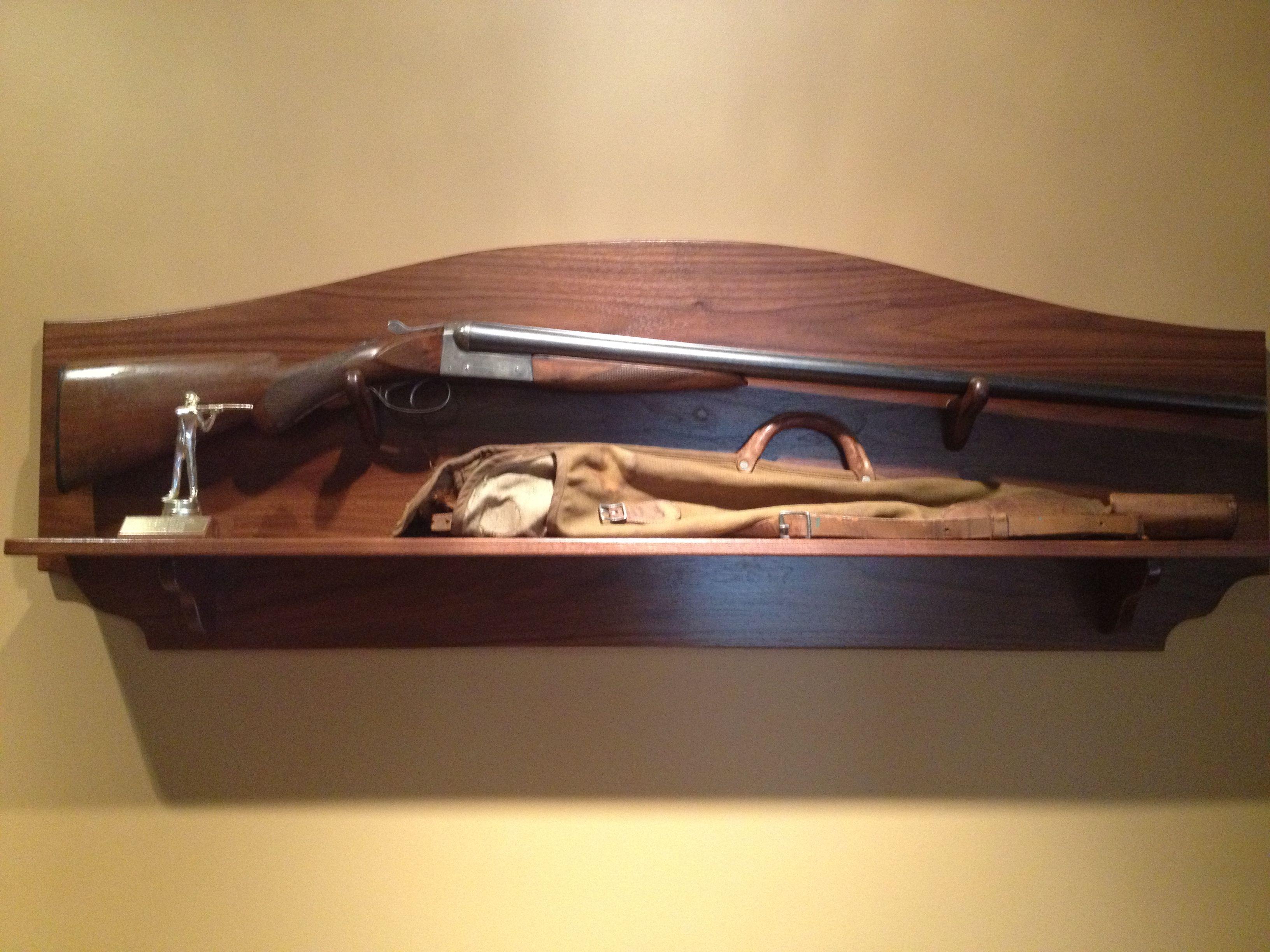 Gun Rack For Heirloom Shotgun Rifle Display Rifle Rack