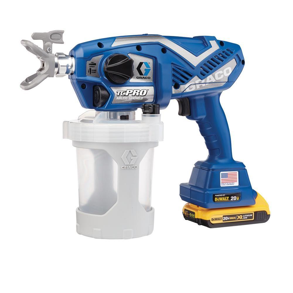 Graco tc pro cordless airless paint sprayer17n166 the