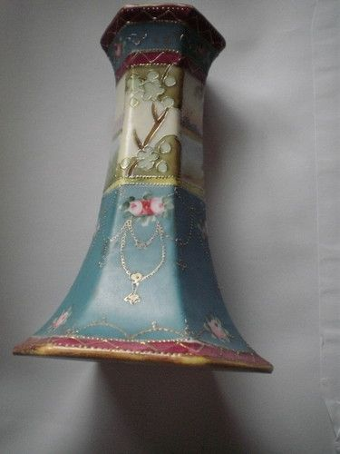 Antique Hat Pin Holder Japanese Handpainted Antique Hats Hat Pins Victorian Hats