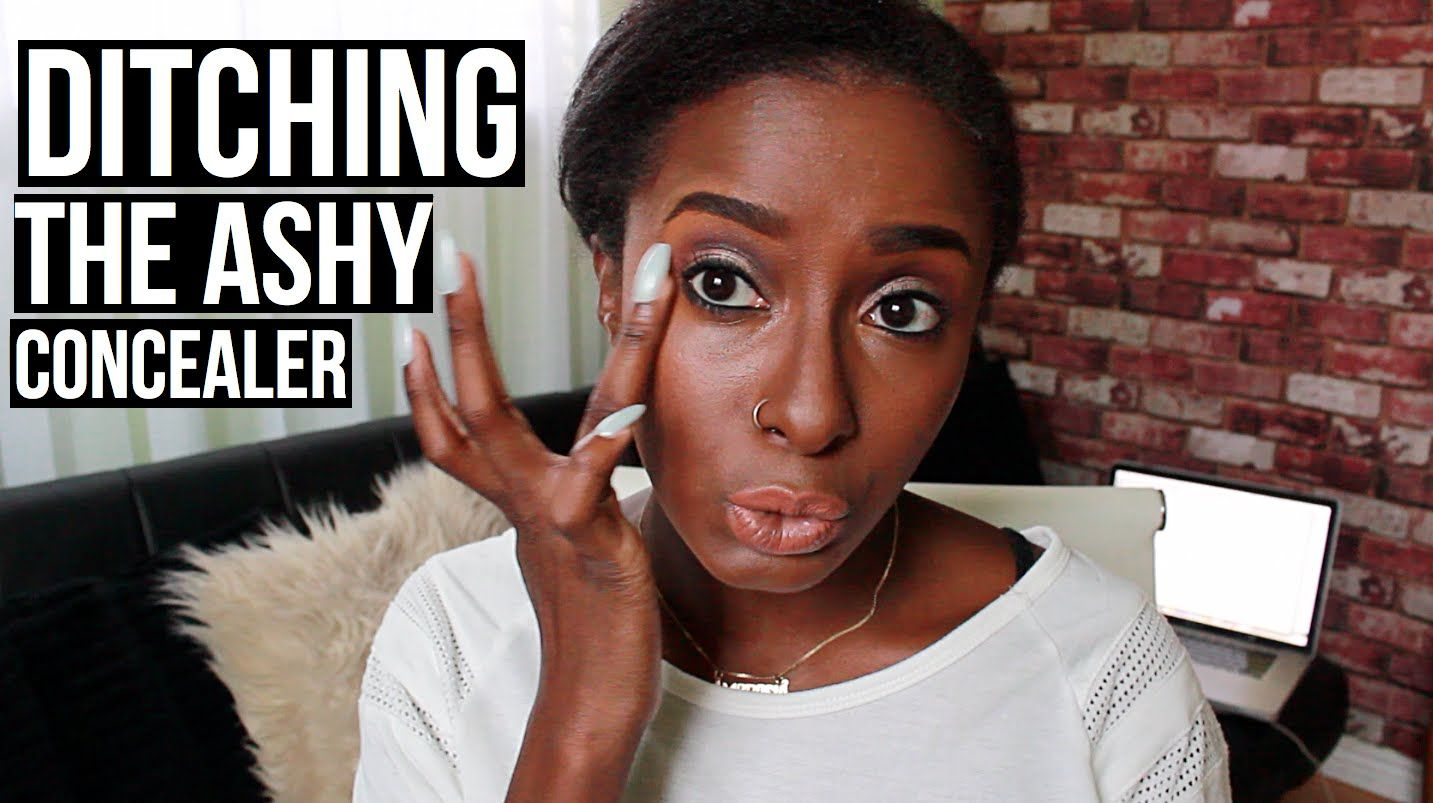 Ditching The Ashy Concealer Concealer Shea Moisture Products Natural Hair Styles