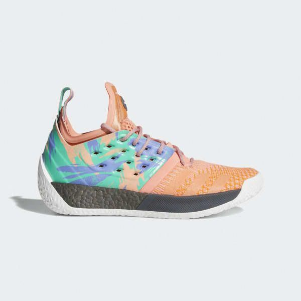96858a006570 adidas Harden Vol. 2 Shoes - Orange