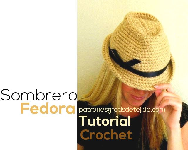 clase magistral en video en español y en inglés sombrero Fedora ...