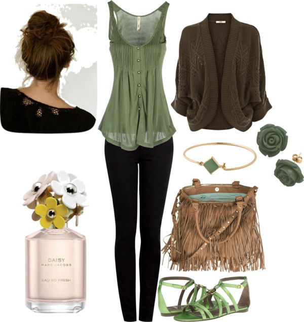 """In the woods"" by thebeautylives on Polyvore"