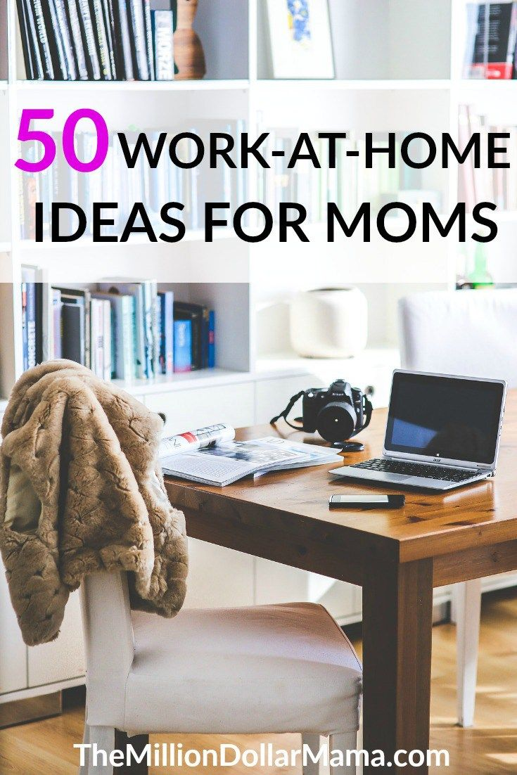 50 Online Jobs and Business Ideas for Moms | Opportunity, 50th and ...
