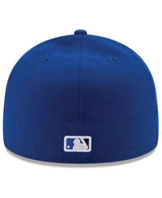 sale retailer a81dc c1970 New Era Kids  Toronto Blue Jays Authentic Collection 59FIFTY Cap - Blue 6  5 8