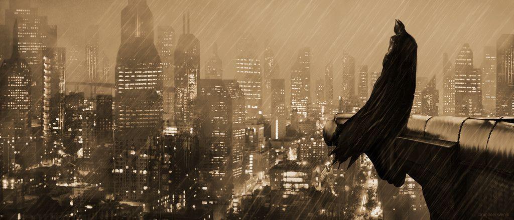 Batman the guardian of gotham city night wallpaper - Gotham wallpaper ...