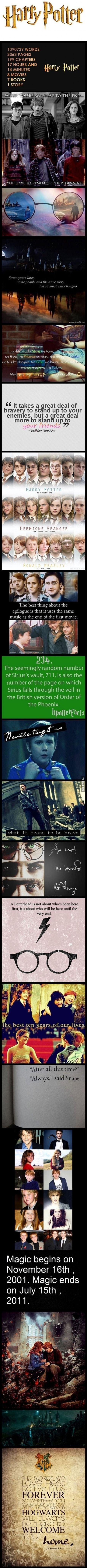 """Harry Potter and the chamber of feels--- """"Hogwarts will always be there to welcome you home"""" <3"""