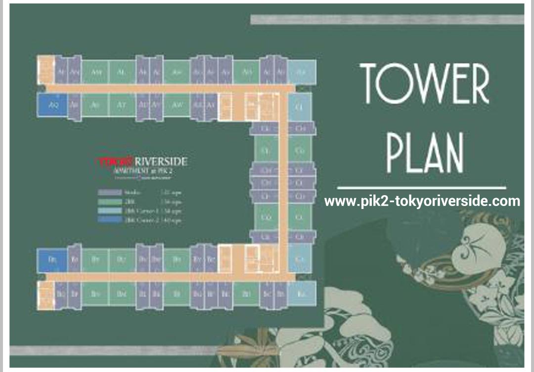 Tower Apartemen Tokyo Riverside Pik Jakarta Tokyo Riverside