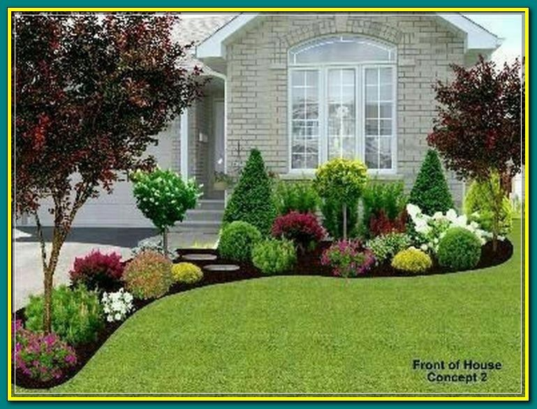 Pin On Landscape Ideas Front Yard