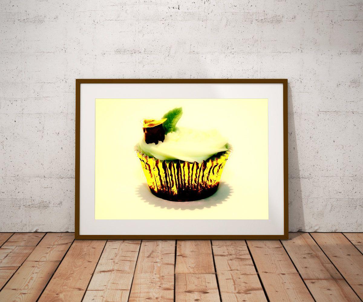 CupCake, Kitchen Wall Art, Kitchen Prints, Pop Art, Cooking Art ...