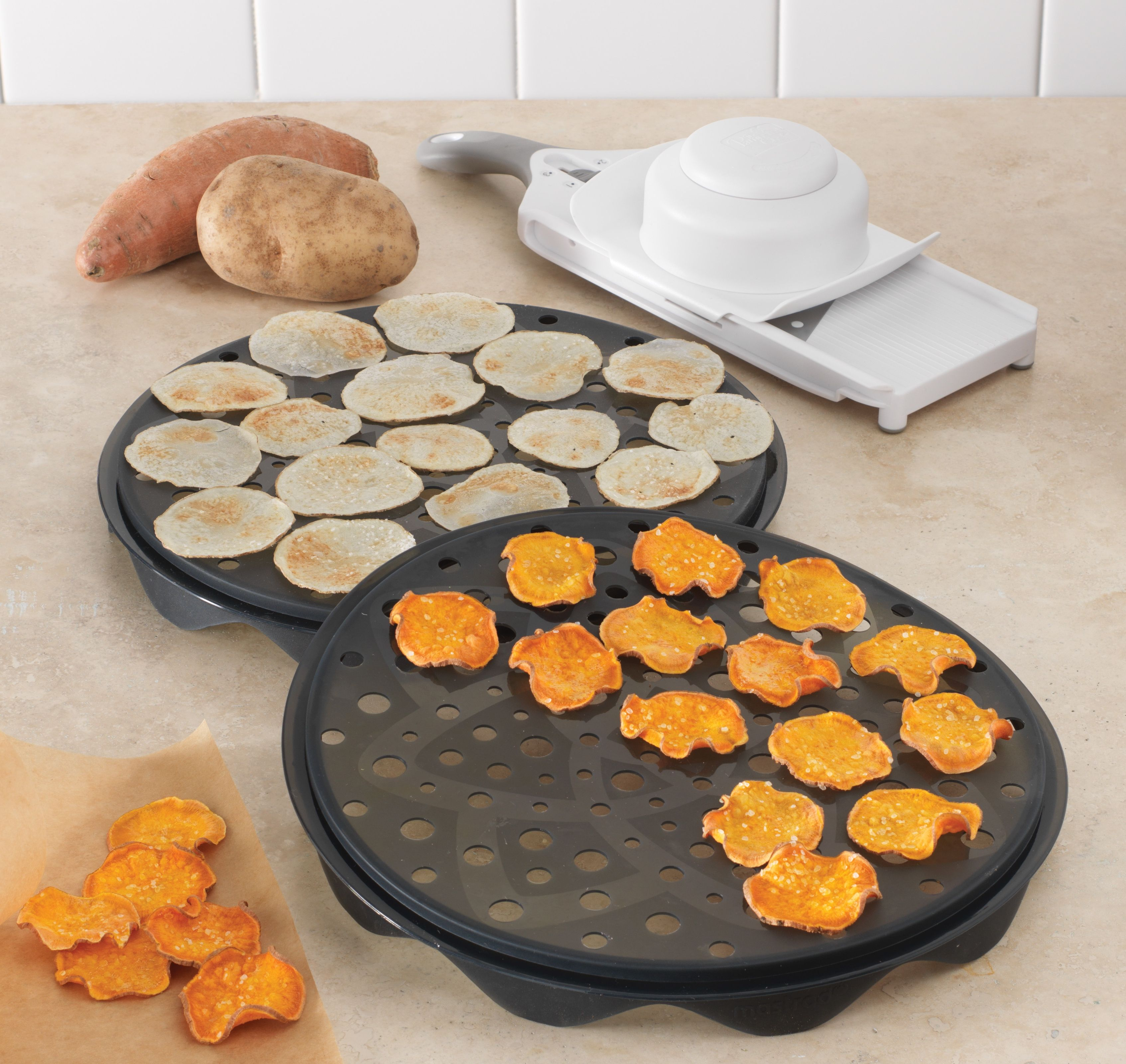 how to make your own potato chips in oven