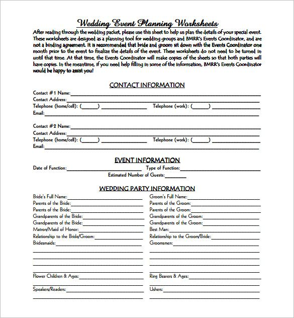event business plan template free