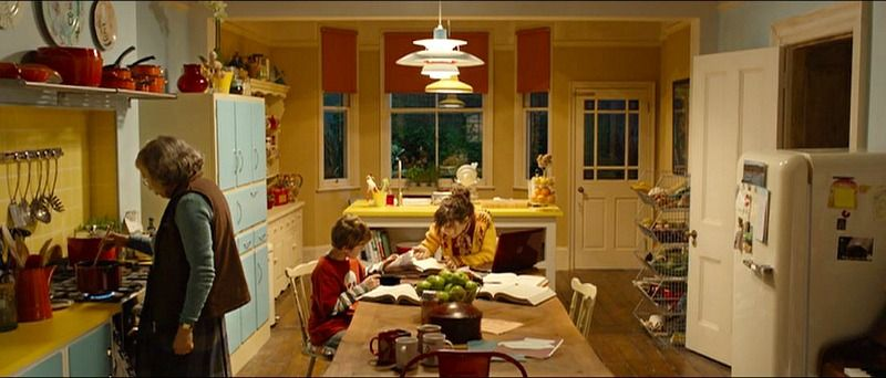 Inside The Colorful House From The Paddington Movie House Colors Brown House Kitchen Colors