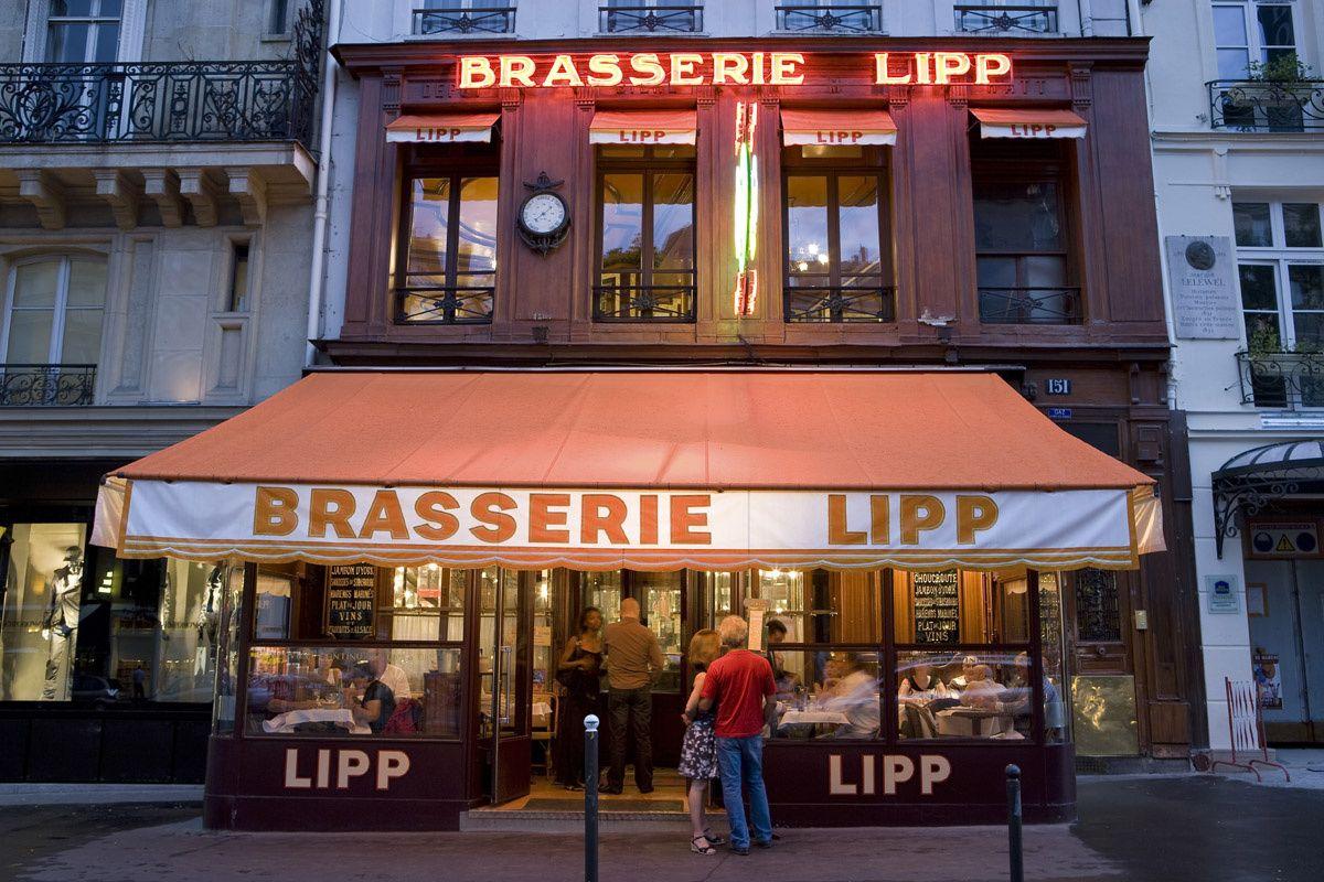 Resultado de imagen para EN PARIS brasserie Lipp
