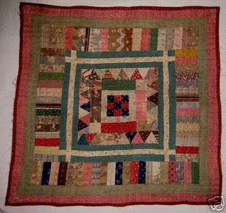 antique doll quilt