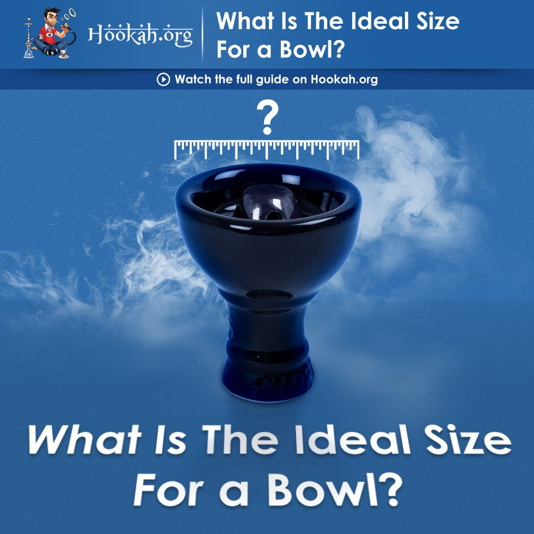 What is the Ideal Size of a Hookah Bowl | Hookah Tips and