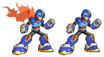 Command Mission Megaman X Mvc By Xeon Licrate D520877 Png 431 235
