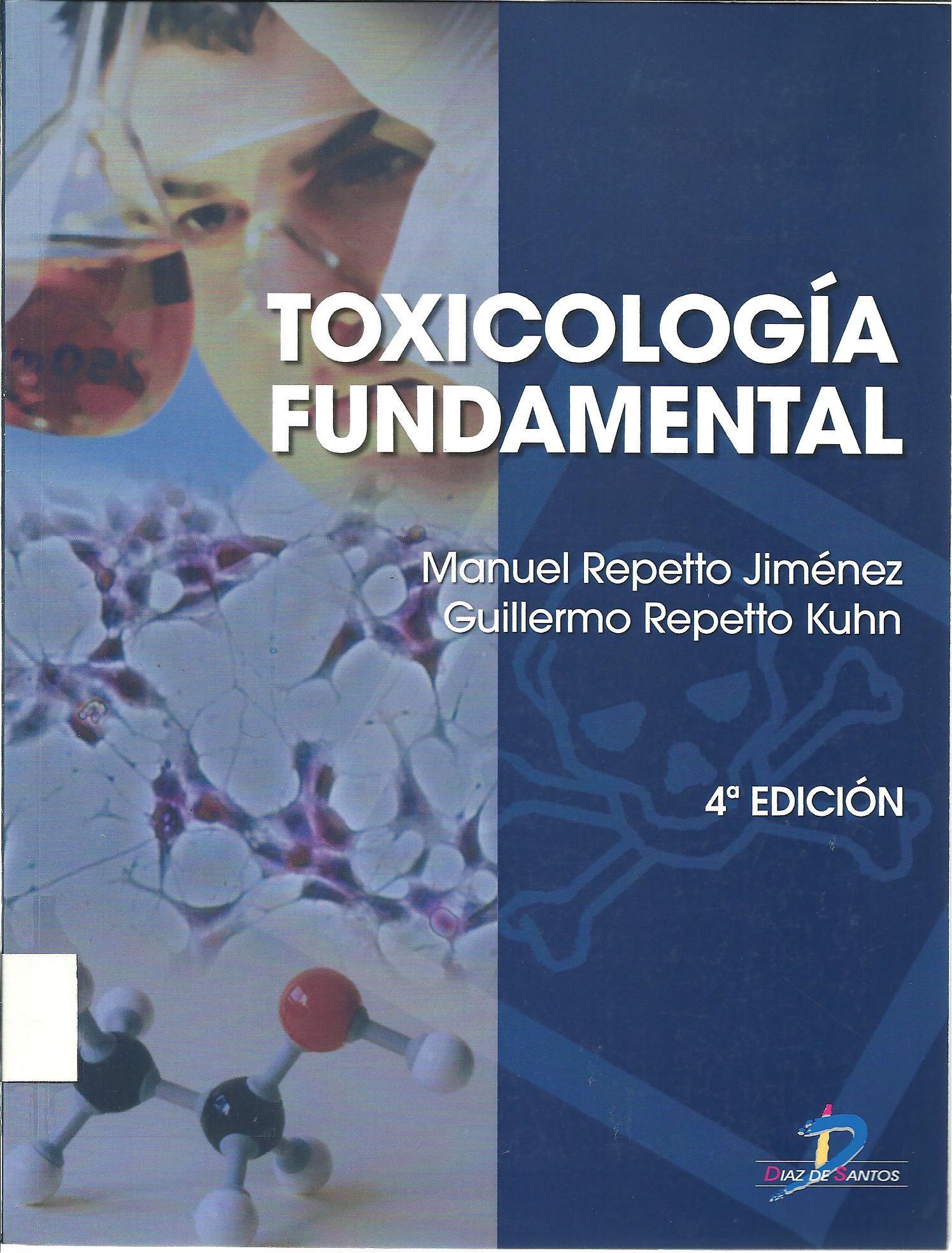 Repetto Jiménez Manuel Toxicología Fundamental 4a Ed 4 Ej Fundamental Arduino Repetto