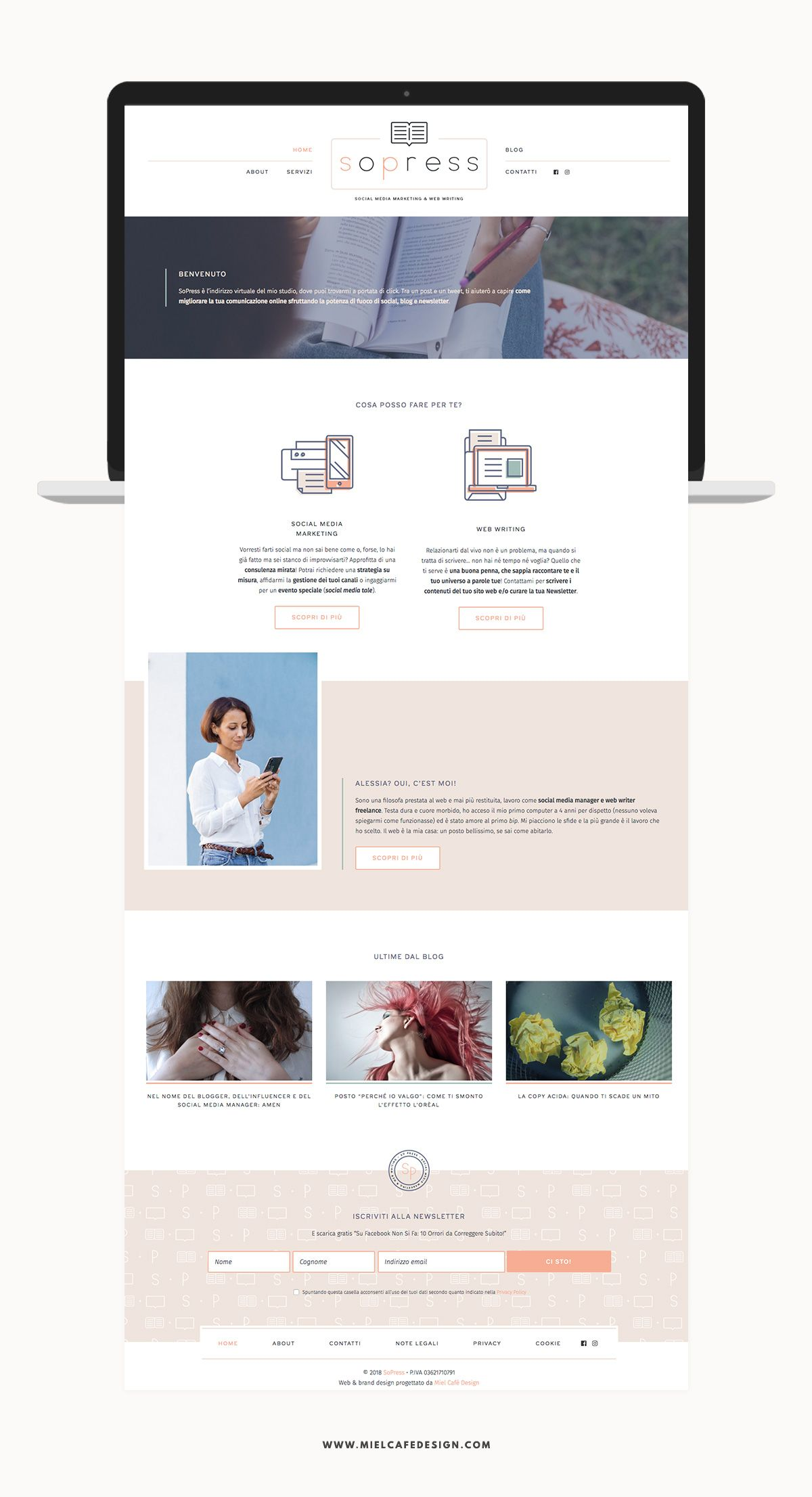Portfolio Branding For Social Media Manager Sopress Web