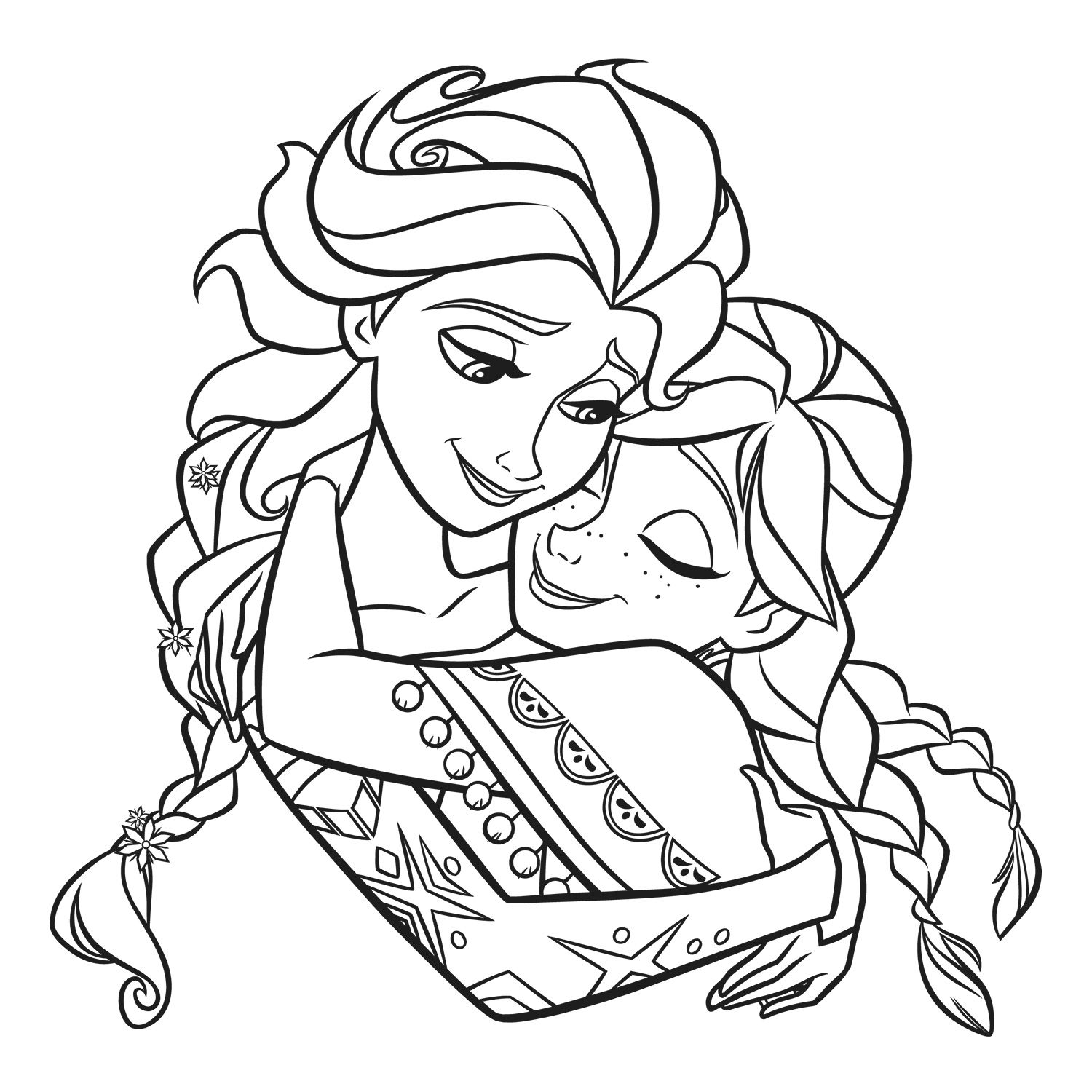 Winter princess coloring pages - Explore Frozen 1 Winter Princess And More