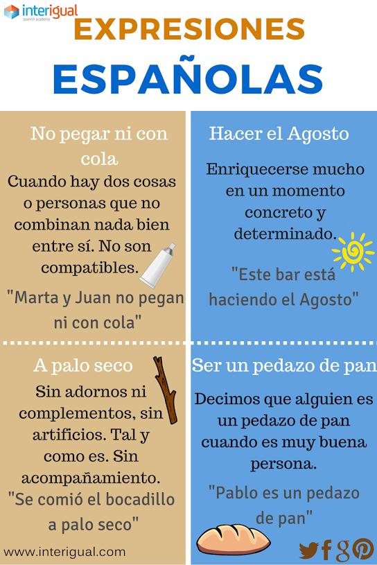 Sentido Figurado Español Expresiones En Español Y