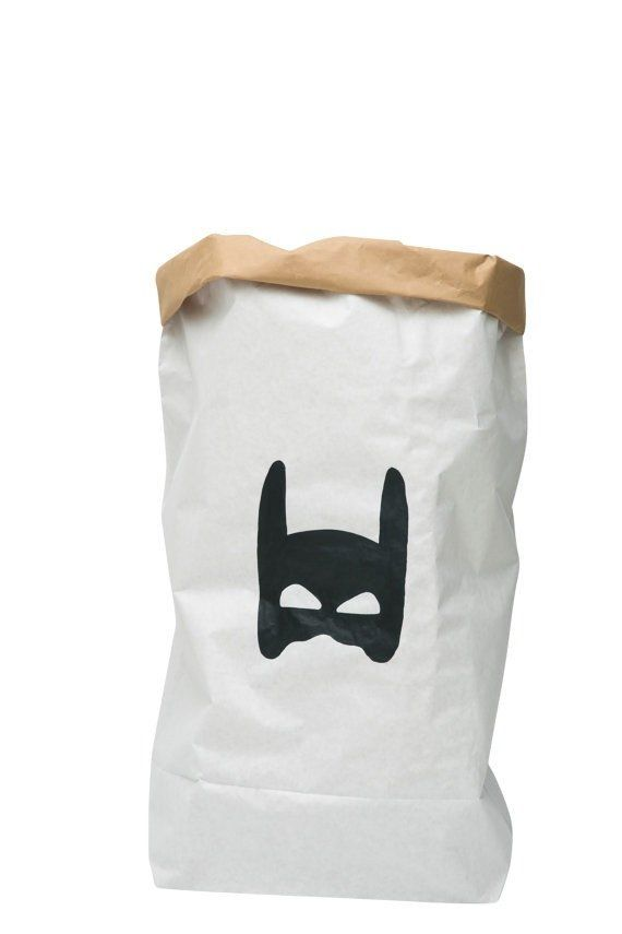 Paper Storage Bag - Superhero