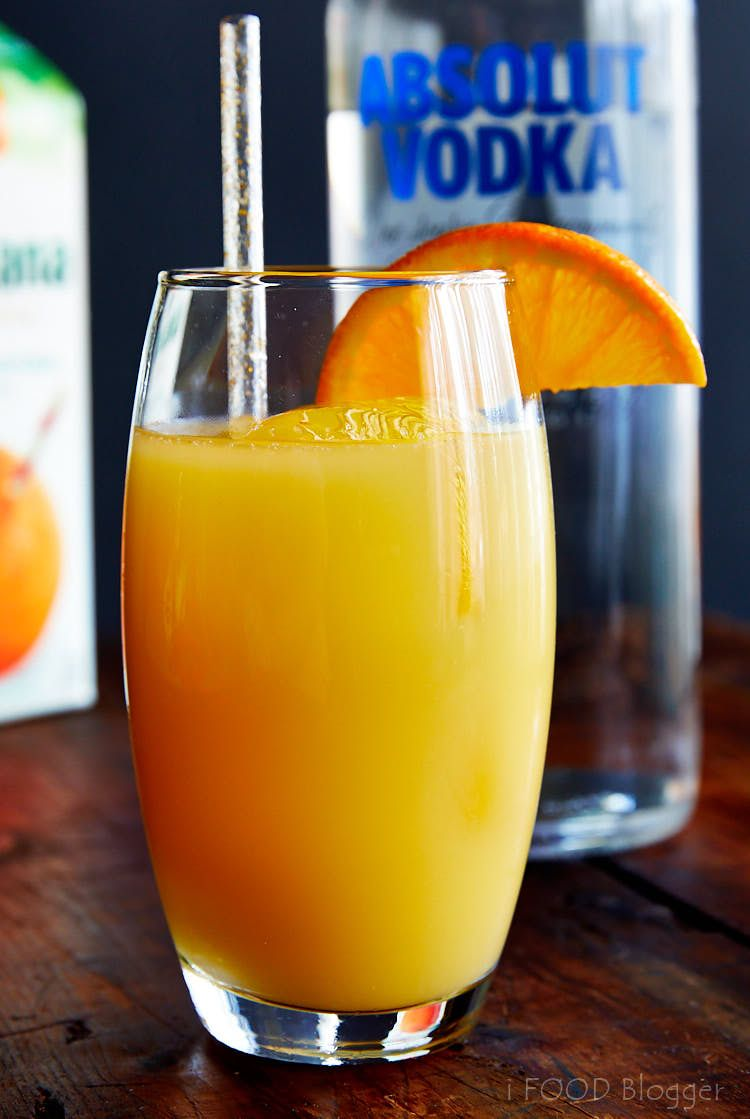 12 Ways To Make The Screwdriver Drink From Classic To Modern Variations Ifoodblogger Com Screwdriver Drink Screwdriver Drink Recipe Vodka Drinks