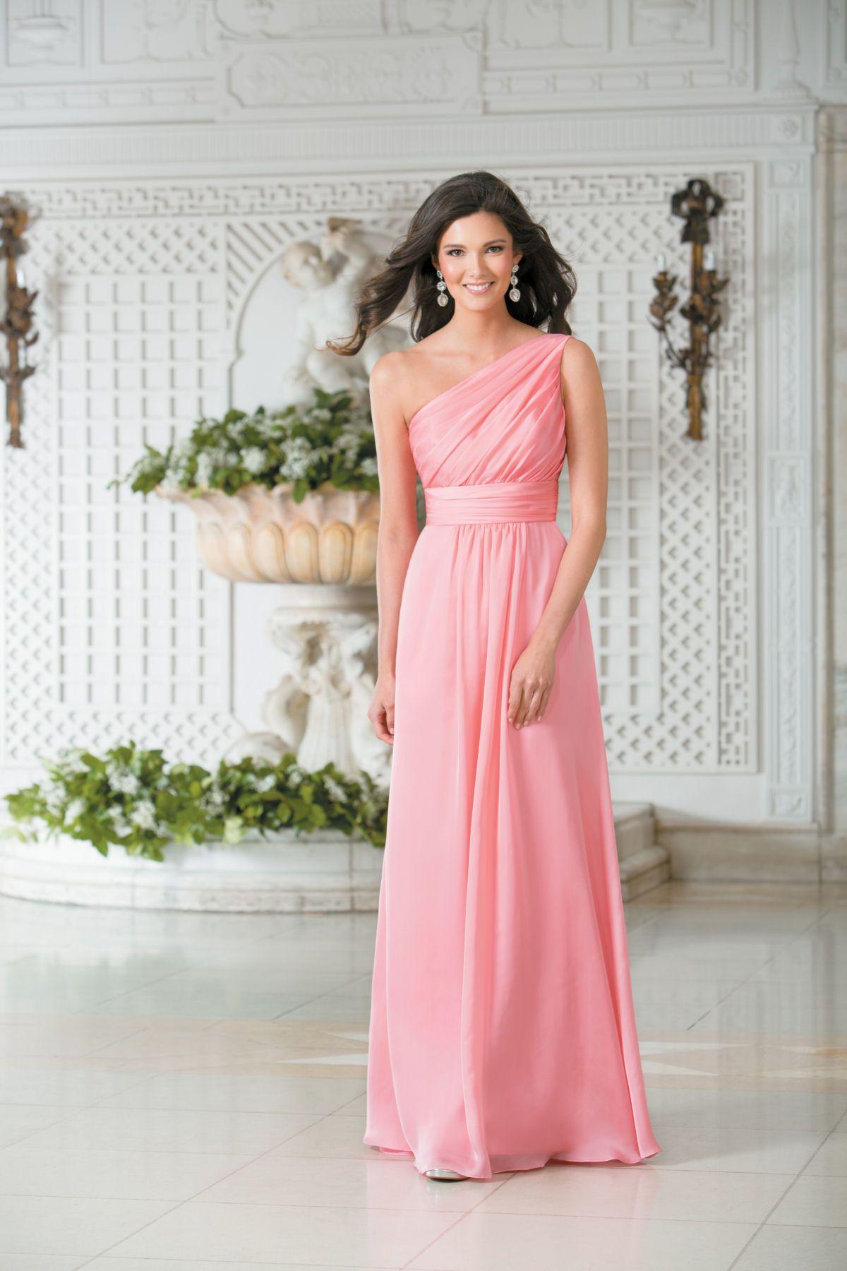 Lujo Jazmín Vestidos De Dama De Honor Belsoie Ideas Ornamento ...