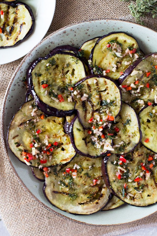 Italian Marinated Eggplant Recipe Eggplant Recipes Aubergine