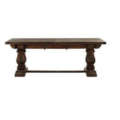 Home Decorators Collection Aldridge Antique Walnut Extendable Dining Table