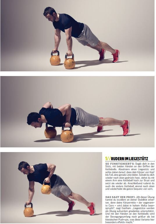 Fettschmelze 15 Minuten 2 Kettlebells 2 Übungen