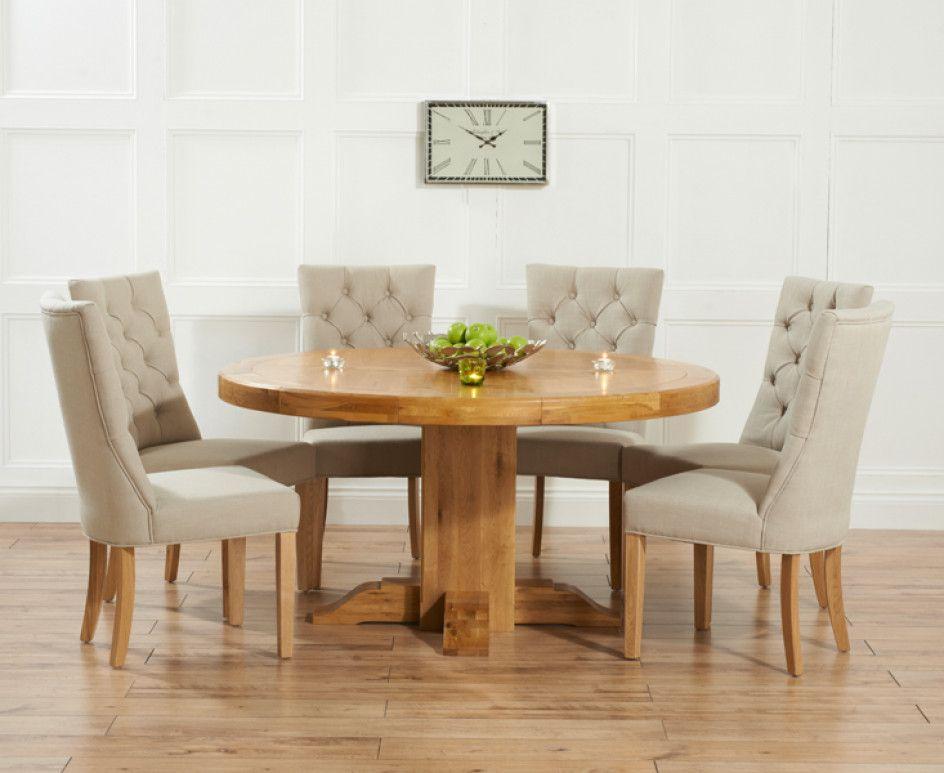 Runder Esstisch Mit 6 Stühlen
