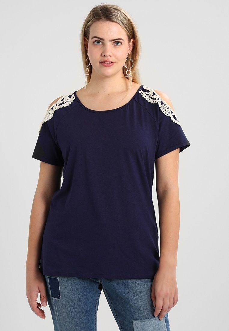 And Shirt BlueKledingCurvy Anna Print T Maritime doxCBre