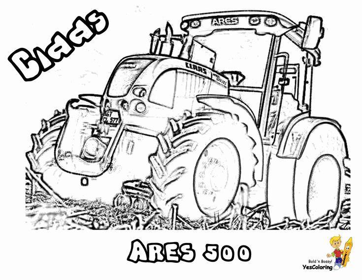 claas traktor ausmalbilder  rc 1 16 claas xerion traktor