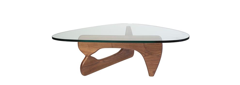 Isamu Noguchi Style Coffee Table Walnut From Interior - Isamu noguchi style coffee table