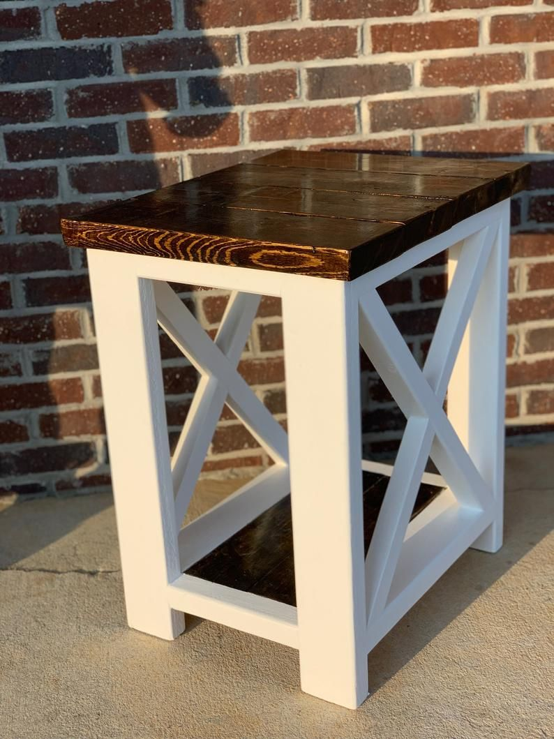 Farmhouse Coffee Table End Table Set Coffee Table End Table