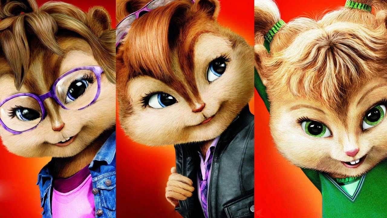 Alicia Keys - Girl On Fire - The Chipettes (Chipmunks)