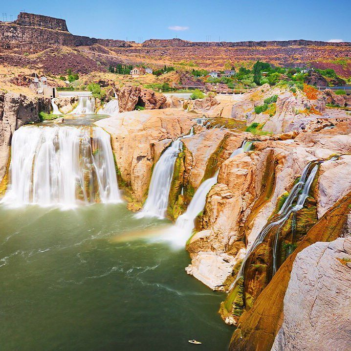 Shoshone Falls in Twin Falls Idaho is like no other place